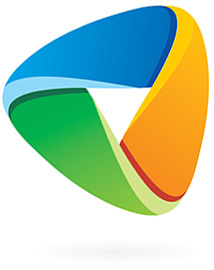 Arffmann logo 2015 - A shaped as Green/yellow Earth, Blue sky/ocean